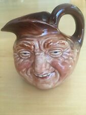 "Vtg Royal Doulton John Barleycorn Toby Jug Mug 2 1/4"" England"