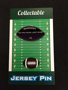Baltimore Ravens Ray Lewis football lapel pin-Collectible