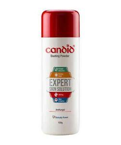 Candid Dusting Powder Expert Skin Solution Antifungal 100 g Free Shipping