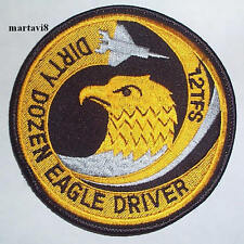 US. Air Force `F-15 EAGLE`  Cloth Badge / Patch (F15-4)