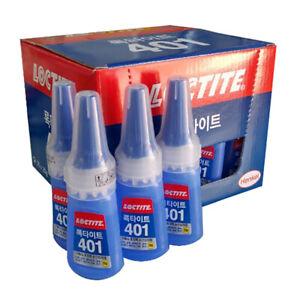 25pcs Loctite 401 Henkel Instant Adhesive Multi-Purpose Super Strong glue korea
