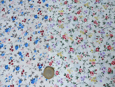 1 - 2 Metres Unbranded Floral Polycotton Craft Fabrics