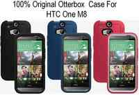 New OEM Otterbox Defender Series Case & Holster Case For HTC One M8 Multi-Color