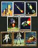 Apollo 11 Moon Landing Neil Armstrong 8 stamps cto 1969 Burundi Lunar Lander