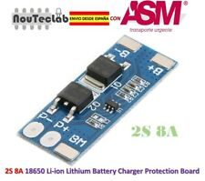 2S 8A Li-ion Lipo 7.4v 8.4V 18650 Battery Protection Board BMS PCM 15A Peak