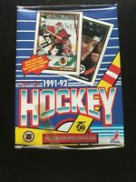 1991-92 O-PEE-CHEE Hockey Cards Unopened Box Vintage NHL packs