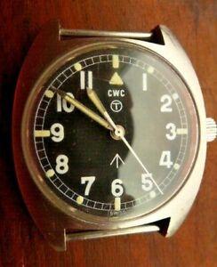 CWC W10 BRITISH ARMY ISSUE: VINTAGE 1979 WATCH.