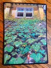 Magic the Gathering Basic Land MTG altered art Ghibli Arriety Plains