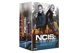 NCIS LOS ANGELES 1-8 THE COMPLETE DVD COLLECTION SEASON 1 2 3 4 5 6  7 8 DEUTSCH