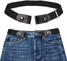 Cintura invisibile elastica senza fibbia, Taglia Regolabile per uomo e donna