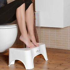 Dr. Wellthy-DER Toilettenhocker - Präv. gegen Hämorrhoiden, Verstopfung u.ä.