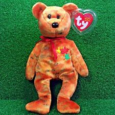 NEW Ty Beanie Baby KANATA The Bear MANITOBA Canadian Plush Teddy - MWMT