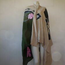 Foulard châle France-Rayonne art-nouveau fait main hand made in Indonesia