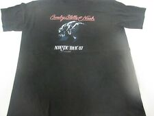 VTG 80s RARE 1987 Crosby Stills and Nash Tour shirt Acoustic Concert Ched XL