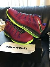 low priced f138d 146bb BRAND NEW AIR MAX LEBRON X 10 LOW LeBRONCURIAL RASPBERRY 2013 - SIZE 12 - DS