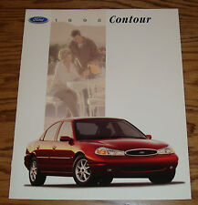 Original 1998 Ford Contour Sales Brochure 98 GL LX SE 1/97
