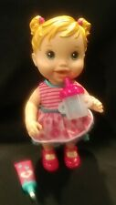 Hasbro Baby Alive Baby Has A Boo Boo With Medicine & Bottle Drink Wet Heals