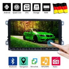"""9"""" Car Bluetooth Stereo GPS Navi Wifi 2 DIN For VW GOLF 5 6 PASSAT Caddy Touran"""