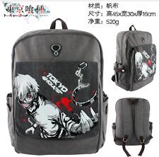 Tokyo Ghoul Ken Kaneki School Bag Rucksack Backpack Book Casual Cosplay Canvas