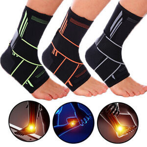 Ankle Support Brace Strap Compression Socks Sleeve Plantar Fasciitis Pain Relief