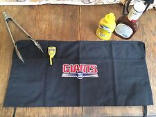 NEW YORK GIANTS GRILLING- BAR B QUE-TAILGATING-BAR APRON- STITCHED LOGO -NWT