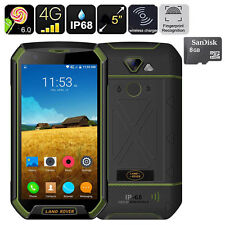 5 inch 4G Discovery V16 Android 6.0 Rugged Smartphone Wireless Charging  + 8GB