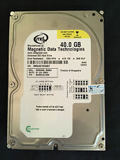 "Western Digital 40GB IDE / P-ATA 3,5"" 7200rpm 2MB MD00400-BABW"