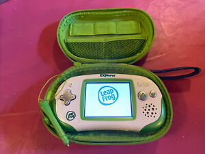 LeapFrog Green Leapster Explorer System Tested/Reset with Stylus, Case