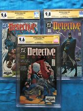 Detective Comics #598-600 set - DC - CGC SS 9.6 9.6 9.8 - Signed by Denys Cowan