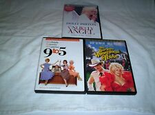 Unlikely Angel(LN)(DVD-1)9 To 5(VG)Best Little Whorehouse In Texas- Dolly Parton