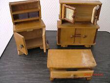 Möbel / Accessoire / Deko / sehr alt  für Puppenstube Puppenhaus Konvolut # 171
