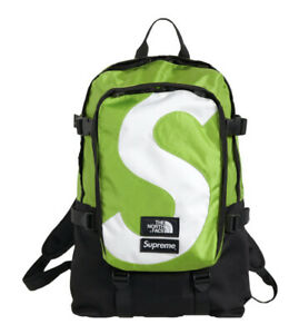 Supreme X The North Face FW20 S Logo Backpack Green Box Logo Bogo