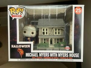 Michael Myers with House Halloween 25 Funko Pop Vinyl New in Box