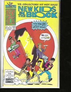 New Kids On the Block, #1, Harvey Comics, High Grade