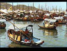 HONG-KONG / BARQUES habitables au PORT