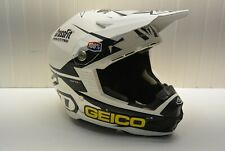 RJ Hampshire Signed 6D Helmet Geico Honda Supercross Motocross ATR-1