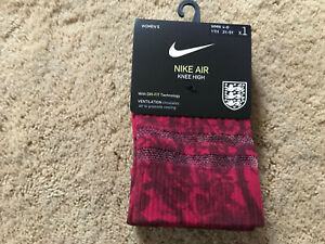 Nike Air Knee High The Lionesses Womens England Soccer Socks SK0134-618 Red