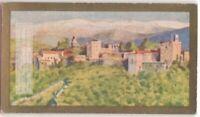 Granada Spain Alhambra Moors Moslem Islam 90+ Y/O Ad Trade Card