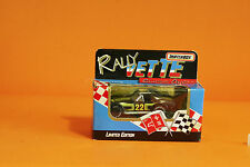 "MATCHBOX - RALLY VETTE SERIES 1 - CORVETTE ""BLACK #22"" 1992 MINT IN SEALED BOX"