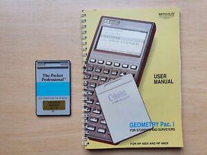 Calculus Geometry Pac I ROM Karte für HP 48SX Taschenrechner, Odd Bringslid #674