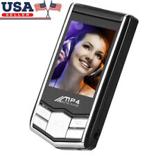 "32Gb Portable Mp3 Mp4 Audio Video Player Fm Radio 1.8"" Tft Screen + Headset - Us"