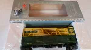 Aristo-Craft 46102 Chicago and Northwestern Cattle Car LN/Box