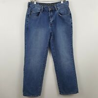 Tommy Bahama Classic Straight Fit Men's Medium Wash Blue Jeans Size 32 x 30