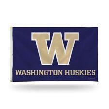 New listing New! Washington Huskies 3x5 Ncaa Purple/Gold Banner Flag - Nice!
