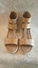 Yellow Box Womens Blush Ankle T-Strap Cushioned 7M Sandals NEW