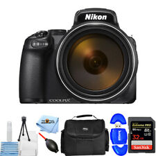 Nikon COOLPIX P1000 16MP Digital Camera + 32GB + Gadget Bag Bundle