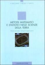 Metodi matematici e statistici nelle scienze della terra Volume 2 LIGUORI