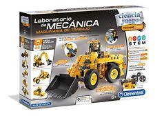 Clementoni 55192. ciencia y juego. laboratorio Mecánica. maquinaria trabajo. 8