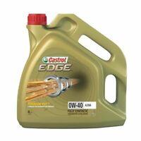 NEW CASTROL ENGINE OIL EDGE 0W-40 A3/B4 - 4 LITRE 15338F BEST QUALITY