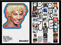 FRANK OCEAN BLOND BLONDE BLONDED RADIO DOUBLE SIDED POSTER RARE LIMITED